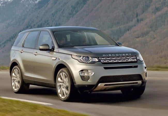 Land Rover Discovery, a powerful 4x4 vehicle