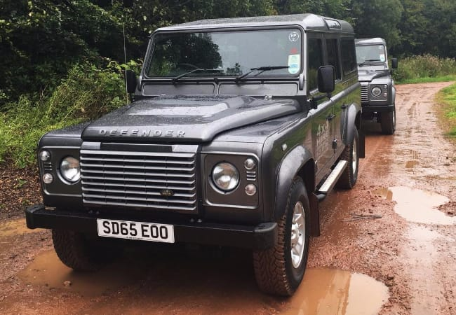 Take a road trip with a Land Rover Defender