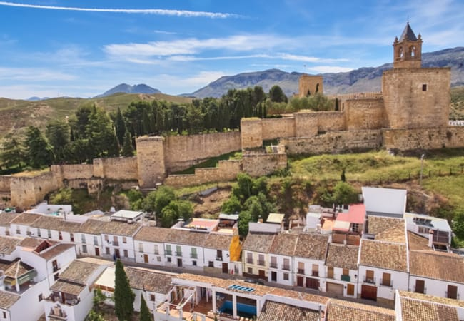 Village of Antequera in Andalusia