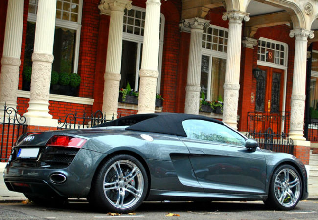 The Audi R8 Spyder - Sleek and exceptionally elegant | Courtesy of Audi.com