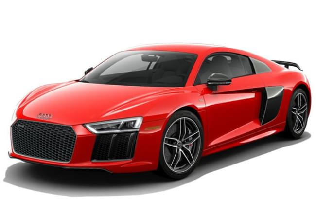 Red Audi R8 Coupe