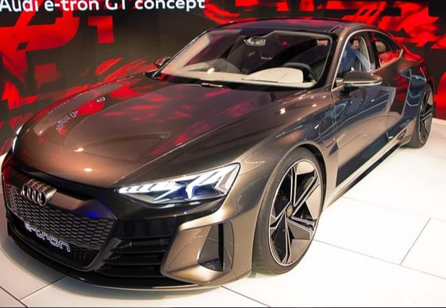 Audi e-Tron GT concept - Photo courtesy by laautoshow.com