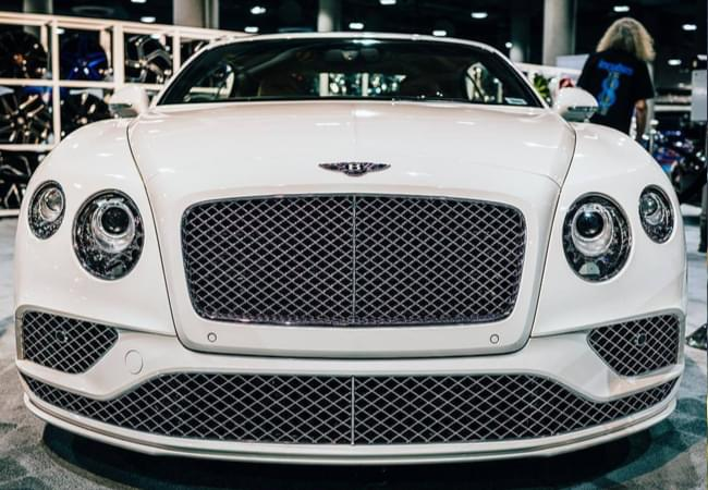 Bentley GT - Photo courtesy by laautoshow.com