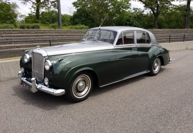 Classic 1959 Bentley S1 Rental -  Timeless Yet Contemporary