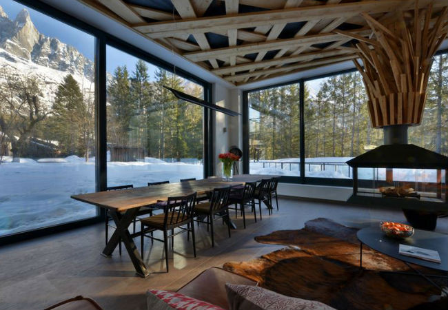 Chalet Le Brise, Rhone Alpes, Courtesy of Oliver's Travels
