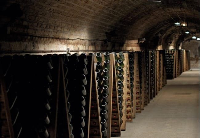 Champagne cellars in Eperney