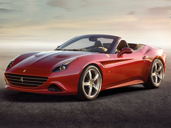 The high performance, Ferrari California