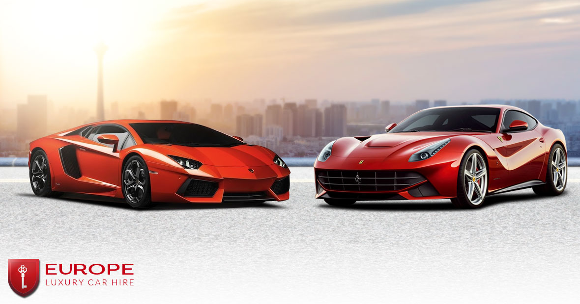 Match On Ferrari F12 Berlinetta Vs Lamborghini Aventador