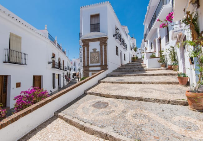 The picturesque village of Frigiliana