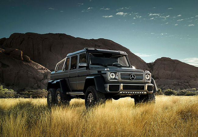 Mercedes G63 potentially the biggest beast in the SUV market | Courtesy of mbusa.com