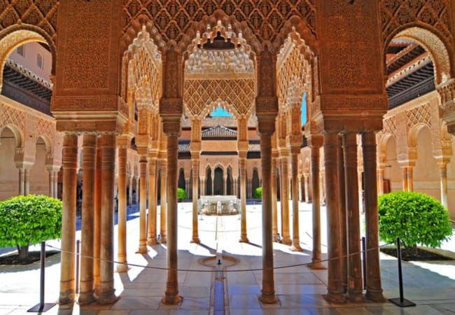 Moorish Architecture in Granada / Photo Courtesy by Cezary Wojtkowski