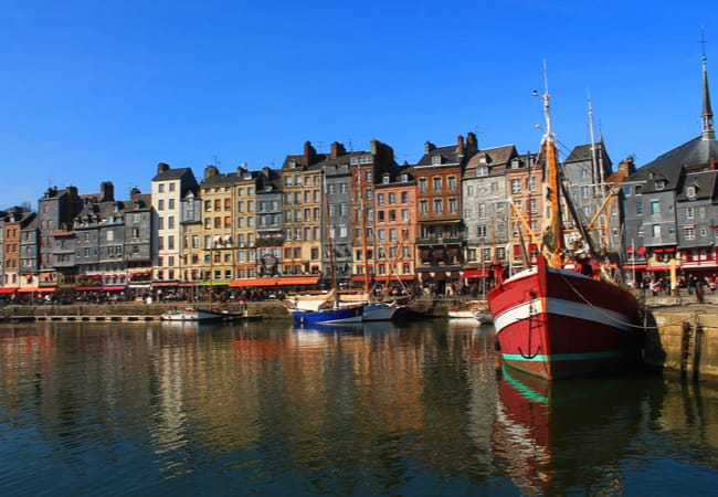 The Coastal city of Honfleur