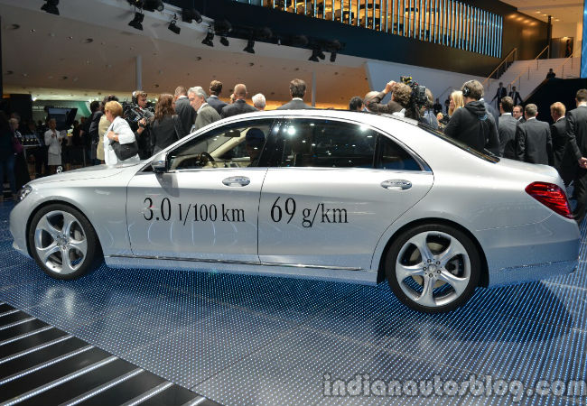The Mercedes Benz S 500 Plug-in Hybrid