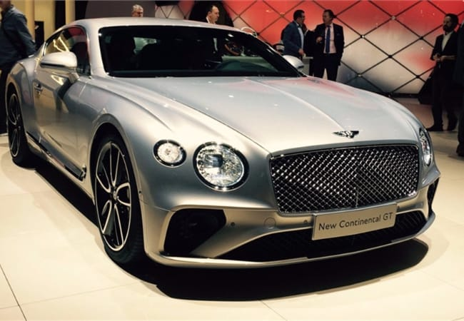 New Bentley Continental GT