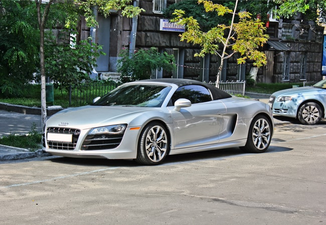 The Audi R8 Spyder is the perfect convertible tourer | Roman S. /Shutterstock.com