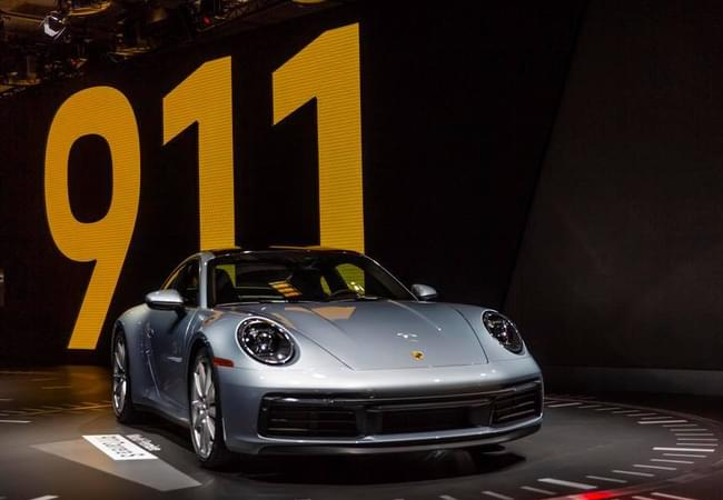 New Porsche 911 Carrera 4S - Photo courtesy by laautoshow.com