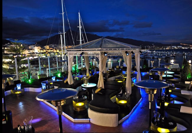 Pangea Bar in Puerto Banus