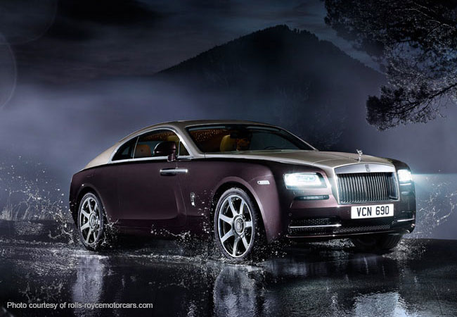 The Rolls Royce Wraith, masterful and distinguished