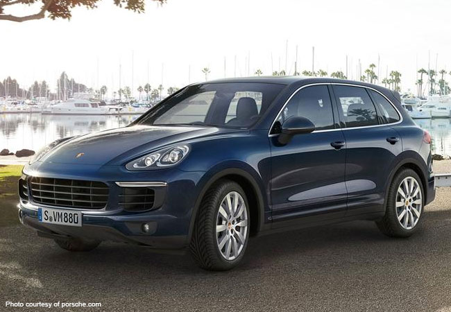 The Porsche Cayenne is the ideal luxury choice for your Milan vacation
