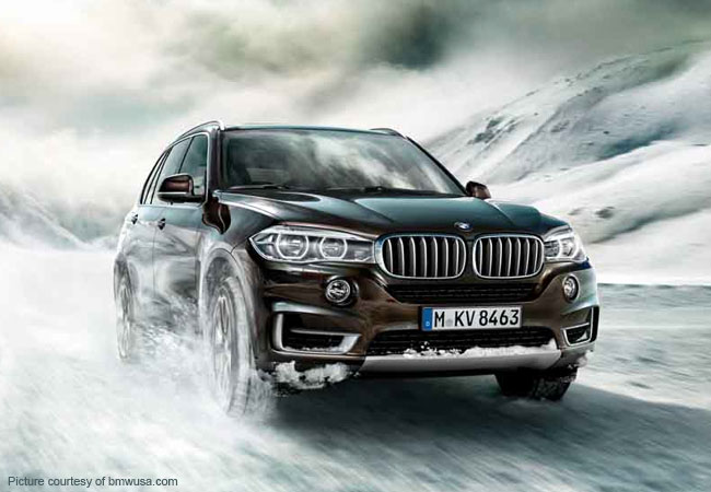 Verber vacation with a powerful BMW X5