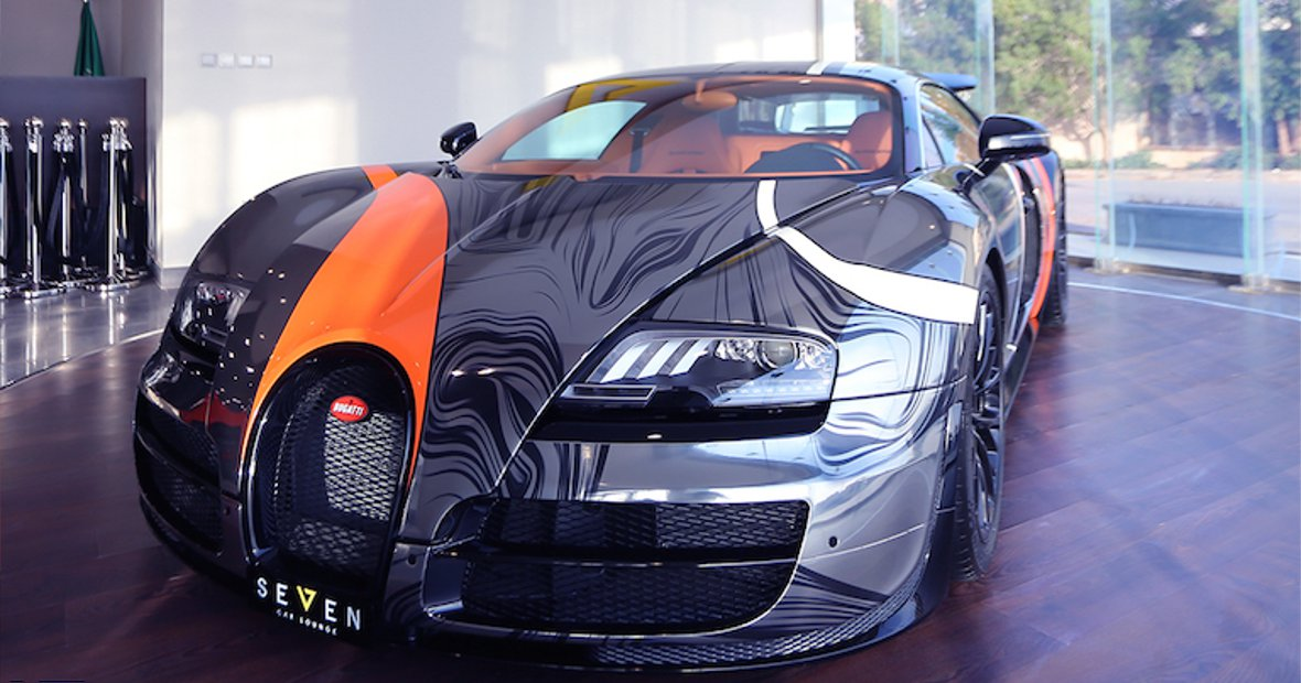 Weird Or Wonderful The New Bugatti Veyron Super Sport