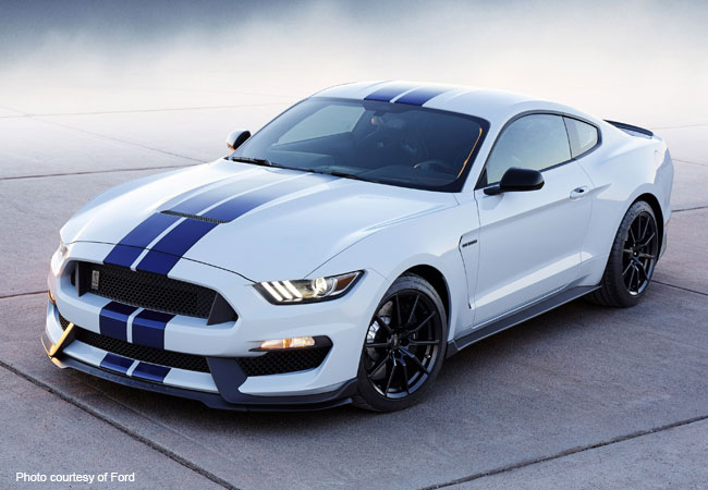 The highly anticipated Ford Shelby GT350