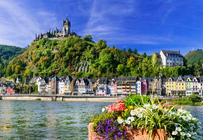 Beautiful medieval village of Cochem