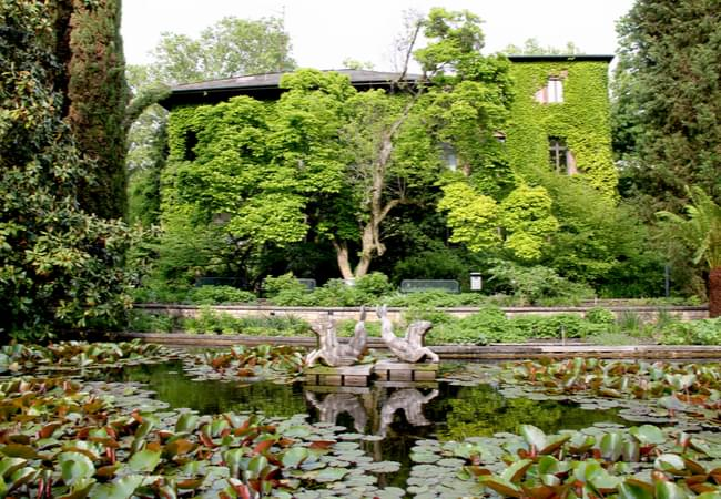 Palmengarten, a superb botanical garden in Frankfurt