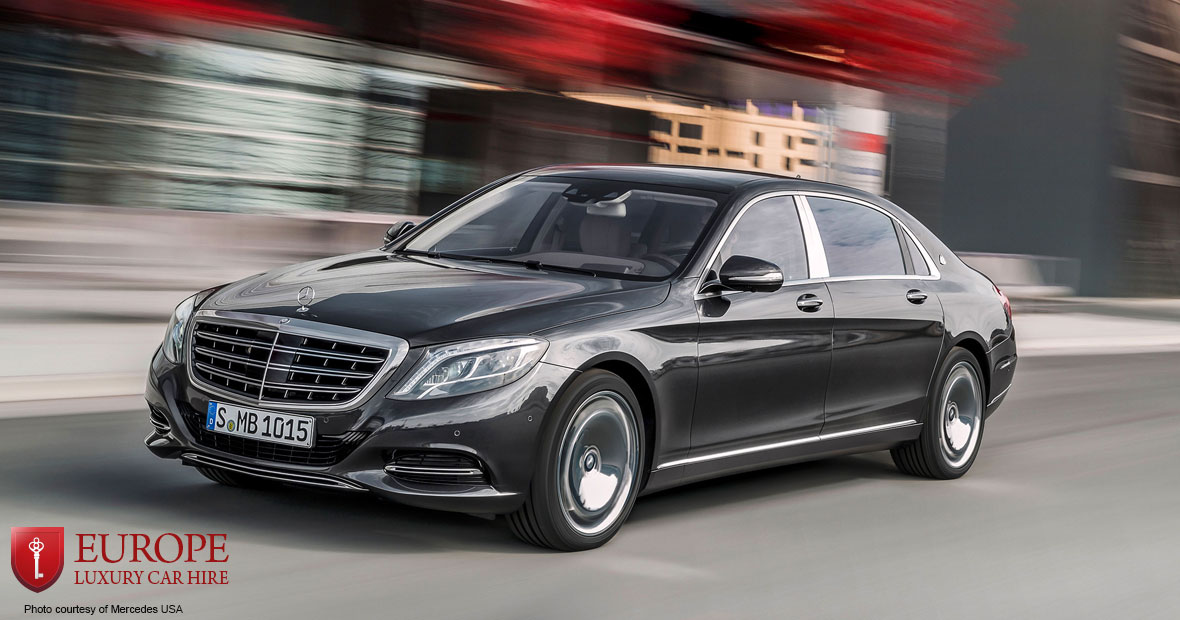 Mercedes Maybach S Class Pullman Europe Luxury Car Hire
