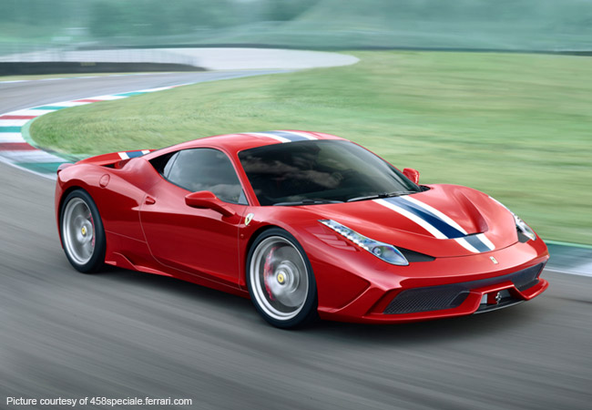 Ferrari 458 Speciale - the ultimate V8 Supercar