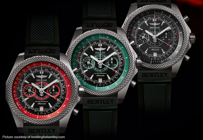 Breitling for Bentley combine power and style