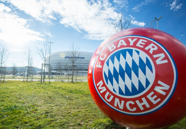 On the grounds of the Allianz Arena | hin255/Shutterstock