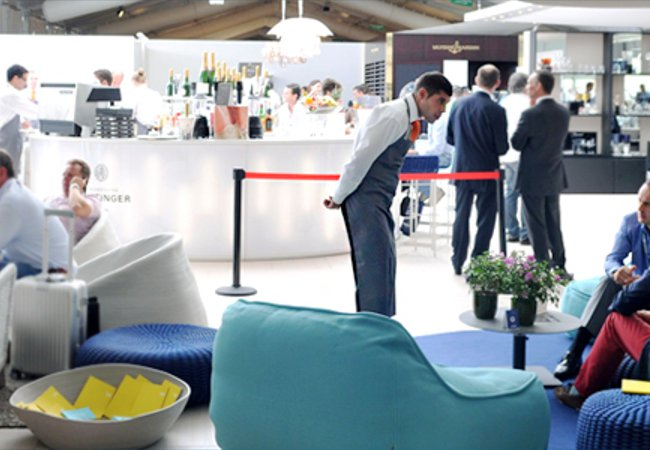 The Upperdeck Lounge | Picture courtesy of Monaco Yacht Show